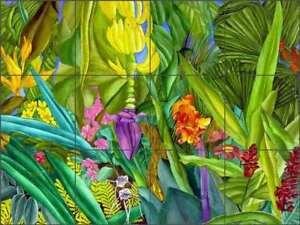Tropical-Tile-Backsplash-Daniels-Floral-Art-Ceramic-Mural-RD007