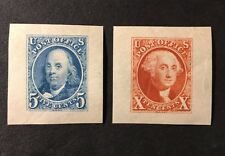 CFLJR 948a 948b 70 Yr Old Reproduction first Two US stamps Scott #1 & #2  MNH OG
