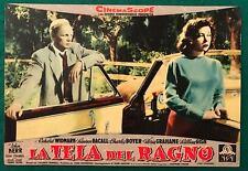 FOTOBUSTA LA TELA DEL RAGNO THE COBWEB MINNELLI BACALL GRAHAME 1° EDIZIONE 1956