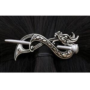Keltische Haarspangen Haarschmuck Haarnadeln Zubehör Silber Vintage-Stil 2#