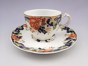 Antique-034-Majestic-034-John-Maddock-amp-Sons-Royal-Vitreous-Demitasse-Cup-amp-Saucer-1
