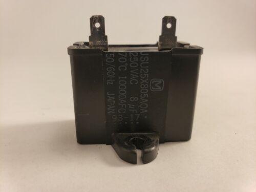 Motor Run Capacitor JSU25X805AQA 8uF 250VAC 50//60Hz 10000AF PART