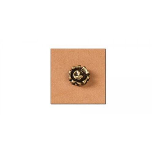 Remaches de Flor 11mm-Placa de Latón Antiguo-níquel libre-paquete de 6