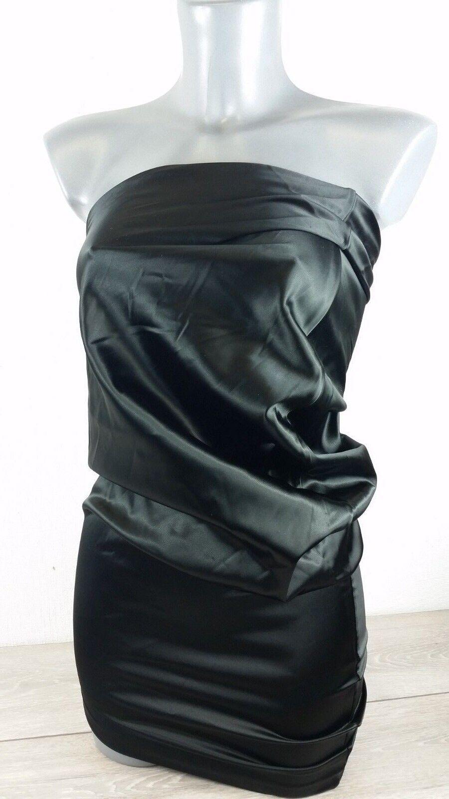 JEAN PAUL GAULTIER Mini Silk Stretchy ITALY Dress  Model SA 0101   8 A322-1