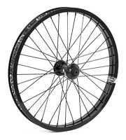 Shadow Conspiracy Symbol Front Wheel Includes 2 Hub Guards Bmx Bike Black
