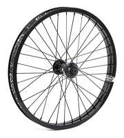 Shadow Conspiracy Symbol Front Wheel Includes 2 Hub Guards Bmx Bike Black