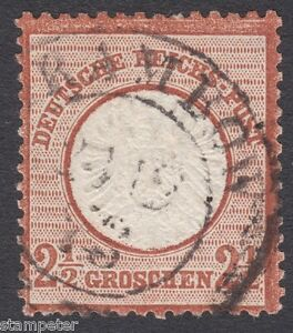 1872-Germany-2-1-2-Groschen-SG-21-Fine-Used