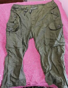 CANADIAN-ARMY-COMBAT-WIND-PANTS-SIZE-73-30-TALL-SMALL-OUTER-LAYER
