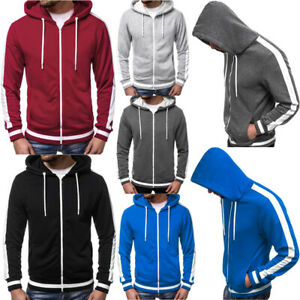 Mens-Cool-Hooded-Cardigan-Casual-Zipper-Hoodie-Sweatshirt-Fashion-Tops-Outwear-B