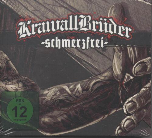 1 von 1 - Krawallbrüder - Schmerzfrei CD + DVD NEU Was lange währt Blut und Tinte