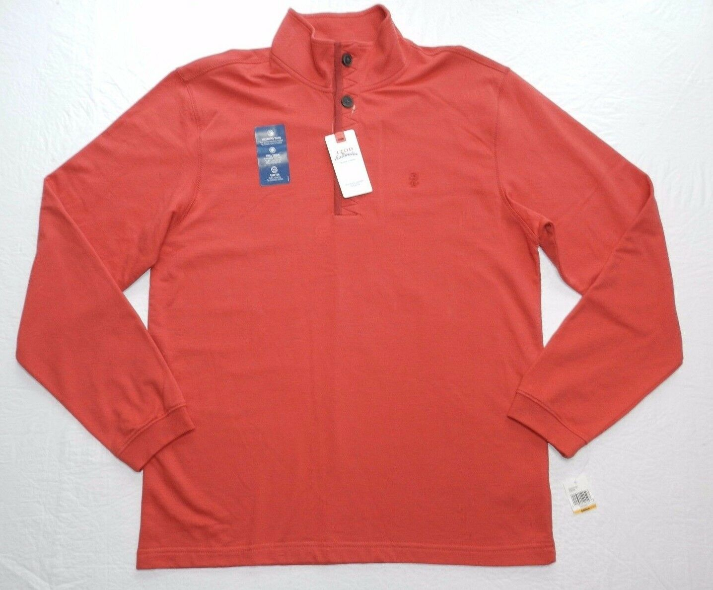 New - MEN'S SWEATER = IZOD SALTWATER = SIZE SMALL = de65