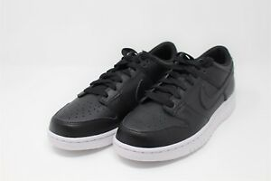 buy popular 1db3e 379c8 Image is loading Nike-Dunk-Low-Black-White-Model-904234-003-