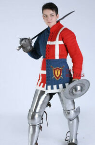 knight armor costumes Gambeson Aketon Medieval or theater Jacket sca armor larp