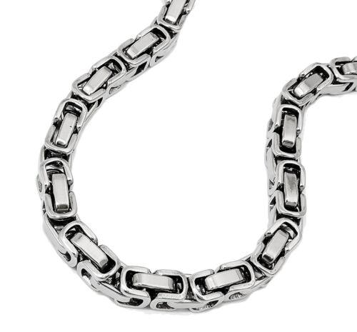 EDELSTAHL *** Königskette-Armband Armkette 5 mm / 19-21 cm