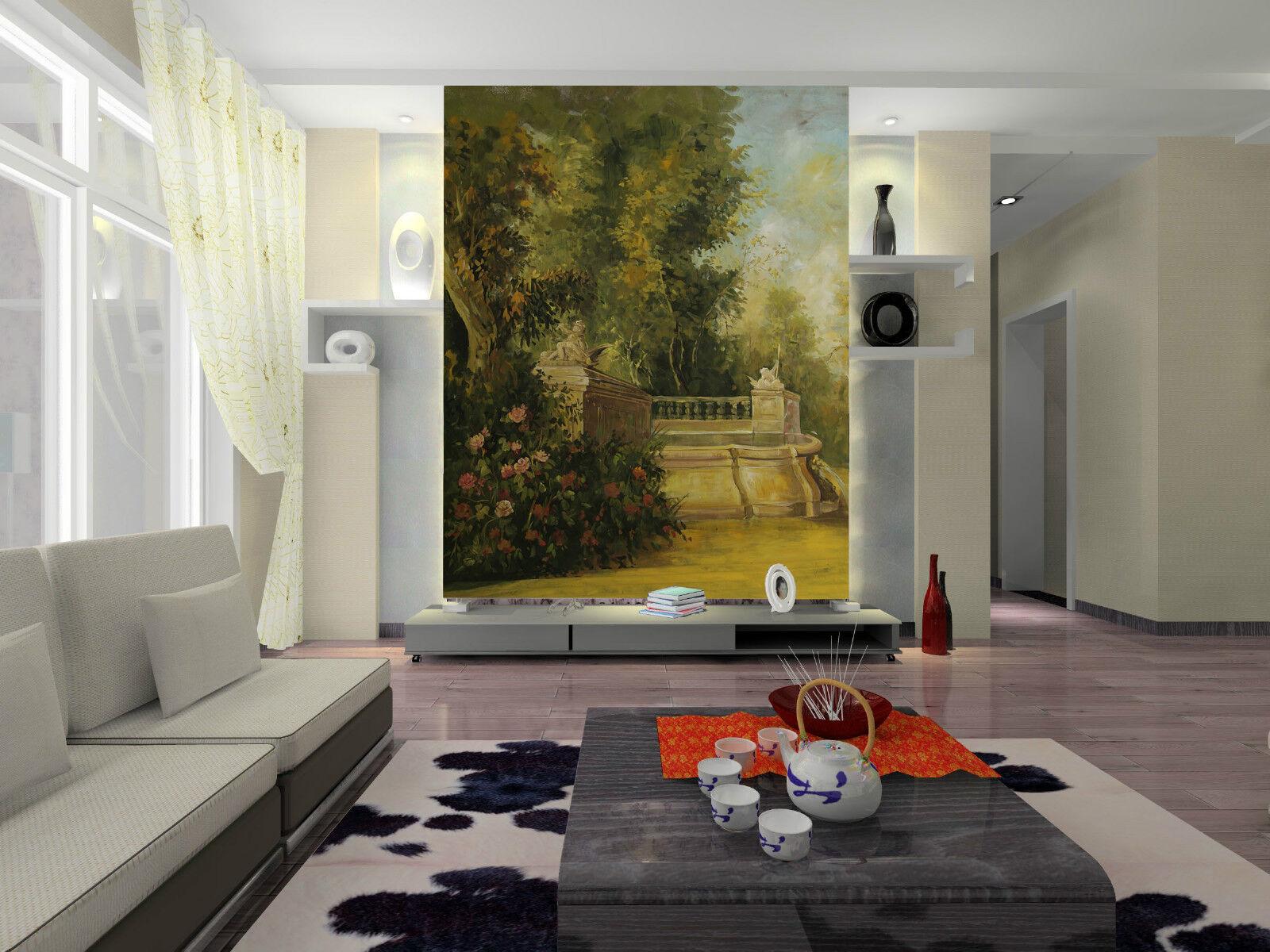 3D Modern Wilderness Painting 31 Wand Papier Wand Drucken Decal Wand AJ Wand Papier