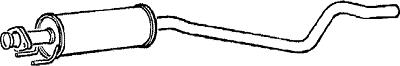 2019 Ultimo Disegno Centro Di Scarico Silenziatore Centrale Per Vauxhall Astra Ggm143 Oem Qualità- Merci Di Convenienza