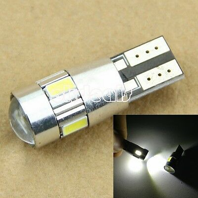 HID CANBUS T10 W5W 5630 6-SMD Car Auto LED Light Bulb Lamp 194 192 158 JUST