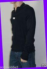 Abercrombie & Fitch Men's NAVY BLUE Henley Shirt XTRA LARGE XL