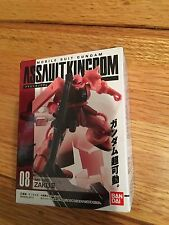 Bandai Gundam Assault Kingdom #08 MS-06S ZAKU II  RED NEW SEALED