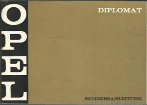 OPEL-DIPLOMAT-B-Betriebsanleitung-1969-Bedienungsanleitung-Handbuch-V8-BA