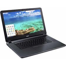 "Manufacturer Refurbished Acer CB3-532-C47C 15.6"" Chromebook, Chrome OS, Intel Ce"