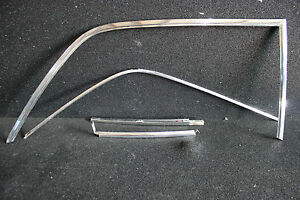 MERCEDES-BENZ-W109-300sel-3-5-6-3-Kit-marcos-de-Cromo-Puerta-Trasera-Derecha