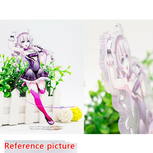 Majo no Tabitabi Elaina Cute Anime Figure Acrylic Stand table Display model Gift