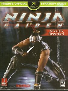 Ninja Gaiden 2004 Xbox Prima S Official Strategy Guide