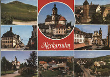 Alte Postkarte - Impressionen von Neckarsulm