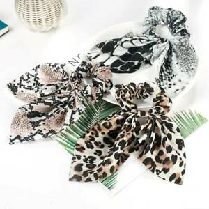 Snake Elastic Bow Scrunchies Headbands Hair Ties Stretch Ponytail Hair Rope Band