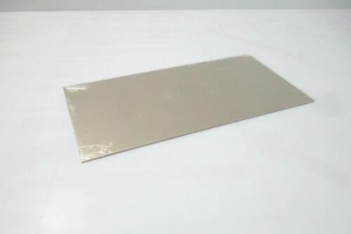 Neusilberblech Tôle 9741 Doux Maillechort CuNi12Zn24 200mm x 100mm x 1,5mm