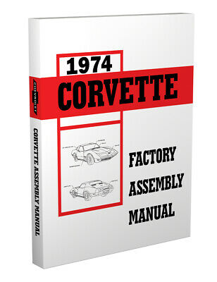 1976 CORVETTE  FACTORY ASSEMBLY MANUAL-BOUND