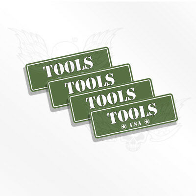 TOOLS  Ammo Can Labels OD 4 Ammo Can Stickers Ammo Can Decals TOOLS