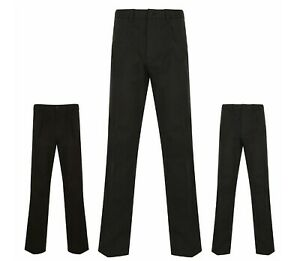 BHS-Mens-Trousers-Atlantic-Bay-Cotton-Active-Fit-31-inch-Leg-Grey-Black-Navy-New