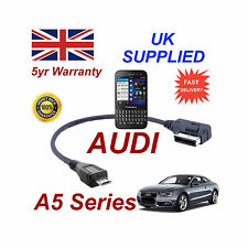AUDI A5 Series 4F0051510M Cable For BLACKBERRY Q5 MICRO USB Audio connection