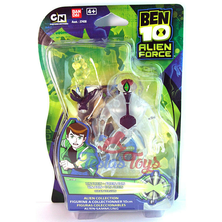 Ben 10 Alien Force Action Figur - DNAlien (klar version)