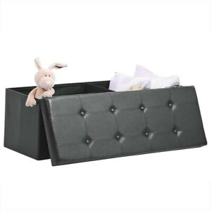 Details about Large Toy Storage Chest Bench Seat For Kids Bedroom Room  Blanket Organizer Box
