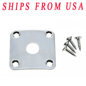 KAISH Electric Guitar Jack Plate ST Boat Jack Plate
