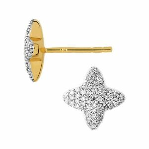 LINKS OF LONDON Ladies Star Stud Yellow Gold Vermeil Earrings RRP247 NEW