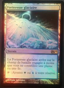 Forteresse-Glaciaire-PREMIUM-FOIL-VF-French-Glacial-Fortress-Magic-mtg