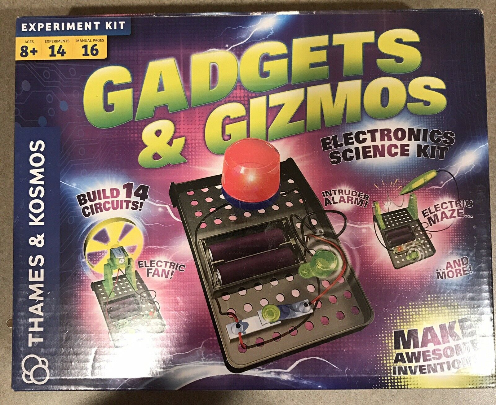 Gadgets & Gizmos Electronics Science Kit - NEW  SEALED