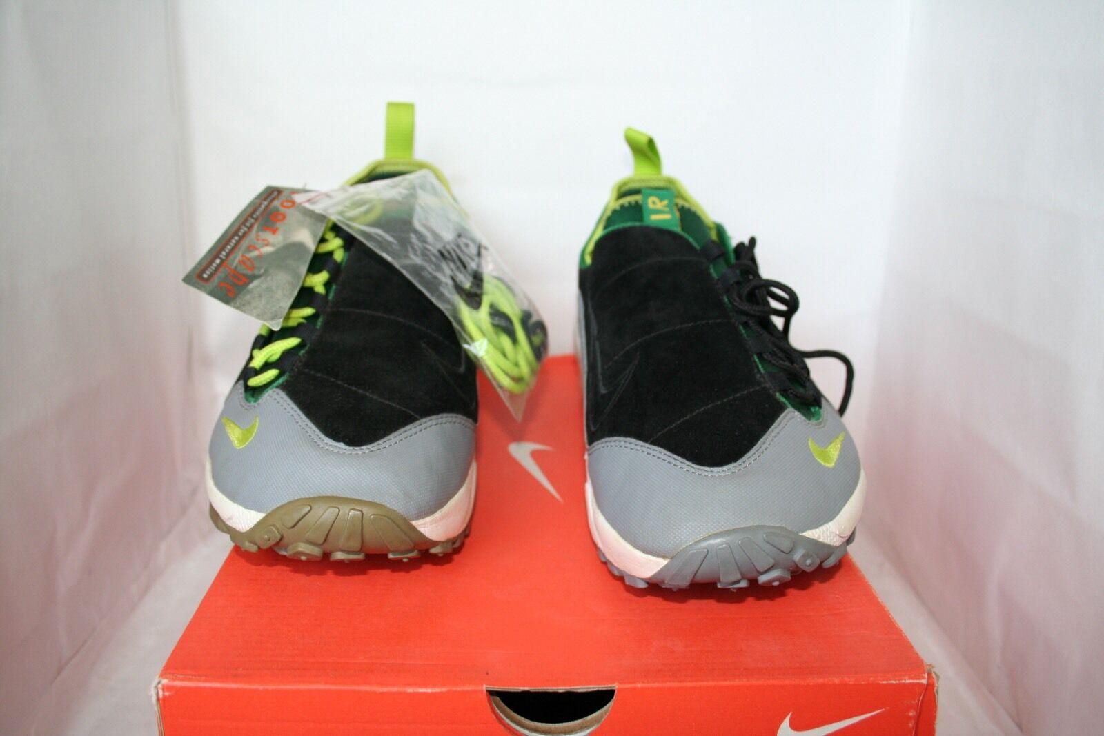 nike air footscape stichprobe grünen schwarz - grau - grünen stichprobe neon - größe 9 oberste deadstock 3c02bb