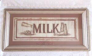 Judy-Kaufman-MILK-Framed-Print-Antique-Style-Farmhouse-Country-Finish-20-x-10