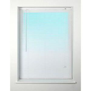 120cm White  PVC Venetian Blind