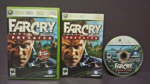 FAR-CRY-Instincts-Predator-Original-XBOX-360-Game-1-Owner-Mint-Disc-COMPLETE