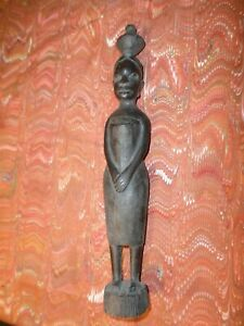 African Makonde peoples Tanzania hand carved Tree of life
