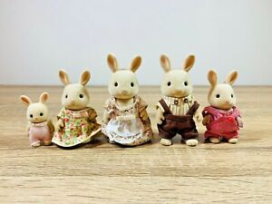 Sylvanian-Families-Buttermilk-Rabbit-Alex-Kate-Oliver-Rebecca-Periwinkle-Henry
