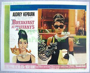 80-039-s-Vintage-BREAKFAST-AT-TIFFANY-039-S-Audrey-Hepburn-Lobby-Card-Poster-Litho