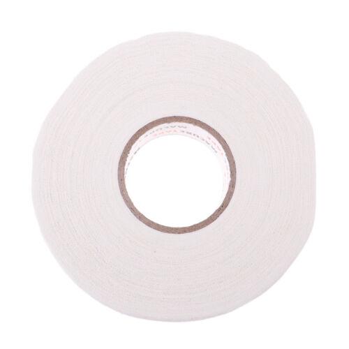 "1/""x25 yds White Prettyia Cloth Hockey Stick Tape Wrap with Sticky Adhesive"