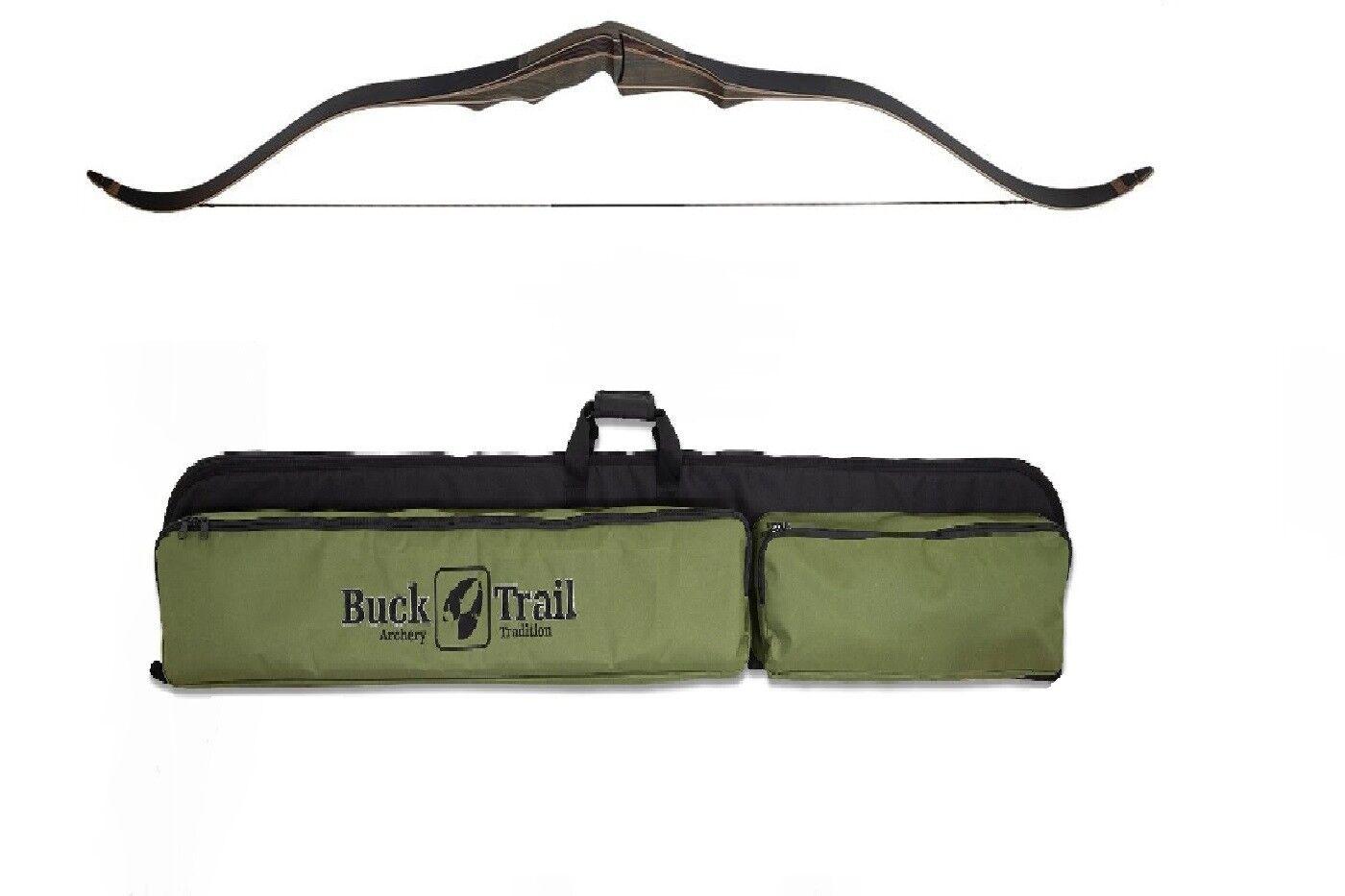Bogen Recurvebogen Holzbogen Buck Trail Antelope 2019 mit passender Bogentasche